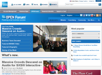AmEx-Open-Forum